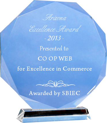 Co-Op Web wins Arizona Excellence Award